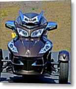 Can-am Spyder - The Spyder Five Metal Print by Christine Till