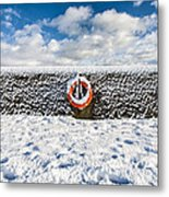 Can You Drown In Snow? Metal Print