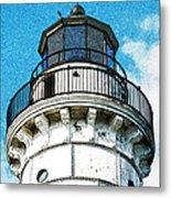 Cana Island Lighthouse Tower Metal Print