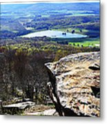 Canaan Valley From Valley View Trail Metal Print by Thomas R Fletcher
