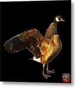 Canada Goose Pop Art - 7585 - Bb  Metal Print