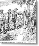 Canada: Loyalists, 1784 Metal Print