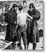 Canada: Riel Rebellion, 1885 Metal Print by Granger