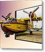 Canadair 3d Metal Print