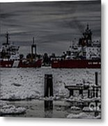 Canadian And United States Icebreakers Metal Print