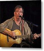 Canadian Folk Singer James Keeglahan Metal Print