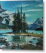 Canadian Landscape  Metal Print