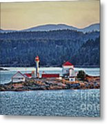 Canadian Lighthouses Sc3415-13 Metal Print