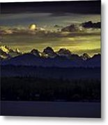 Canadian Montain Metal Print