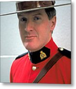 Canadian Mounted Police Metal Print
