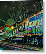 Canadian National Railroad Metal Print by Michael Rucker