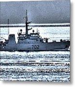 Canadian Navy Nanaimo M M702 Metal Print