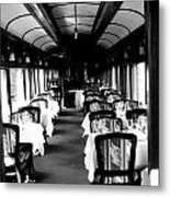 Canadian Pacific Dining Metal Print