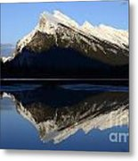 Canadian Rockies Mount Rundle 1 Metal Print