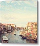 Canal Grande In Venezia Metal Print