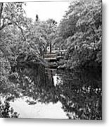 Canal Reflections 9 Metal Print