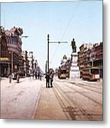 Canal Street New Orleans 1900 Metal Print