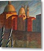 Canale Grande Venice Metal Print