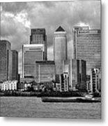 Canary Wharf Metal Print