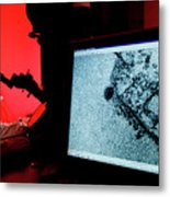 Cancer Research Metal Print