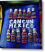 Cancun Souvenirs Mexico Metal Print