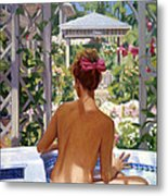 Candace Being Candlish On Canvas Metal Print