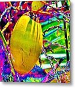 Candied Coconut Metal Print