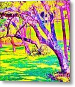Candied Golf Game Metal Print