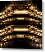 Candle Abstract 4 Metal Print