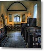 Candle Church Metal Print