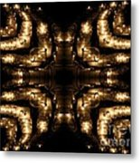 Candles Abstract 1 Metal Print
