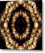 Candles Abstract 6 Metal Print