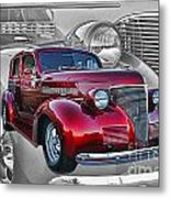 Candy Apple Red Metal Print