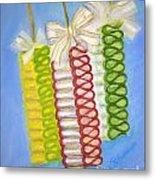 Candy Ribbon  Metal Print