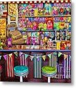 Candy Shop Metal Print