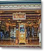 Candy Shop Main Street Disneyland 01 Metal Print
