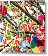 Candy Tree Metal Print