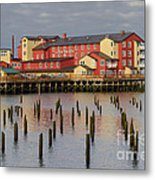 Cannery Pier Hotel Metal Print