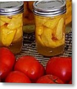 Canning Season Metal Print