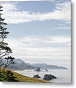 Cannon Beach At Ecola State Park Metal Print
