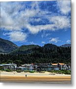 Cannon Beach South Metal Print