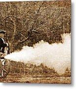 Cannon Fire Metal Print