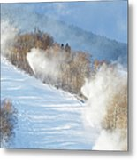 Cannon Mountain Ski Area - Franconia Notch State Park New Hampshire Metal Print