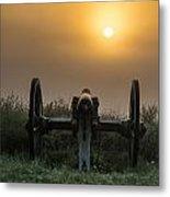 Cannon On Cemetery Hill Gettysburg Metal Print by John Greim