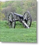 Cannon On Culp's Hill Metal Print