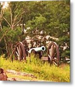 Cannon On Culps Hill Metal Print