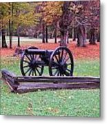 Cannon On The Parade Grounds Metal Print