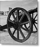 Cannons Metal Print