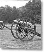 Cannons On Manassas Battlefield Metal Print