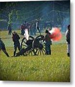 Canon Fire Reenactment Metal Print